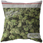 Bag of Weed Throw Pillow - Funny Weed Gifts - meme Cuisine