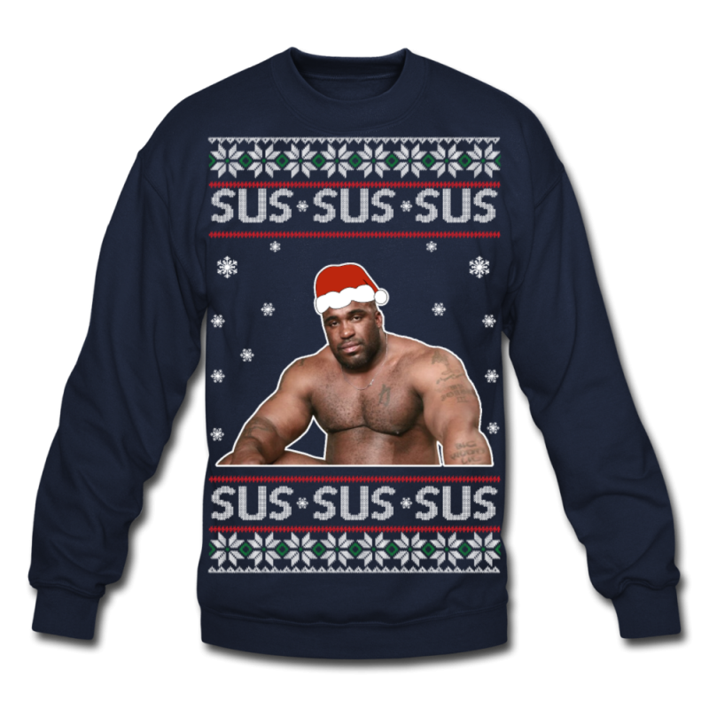 Sus Ugly Christmas Sweater - navy
